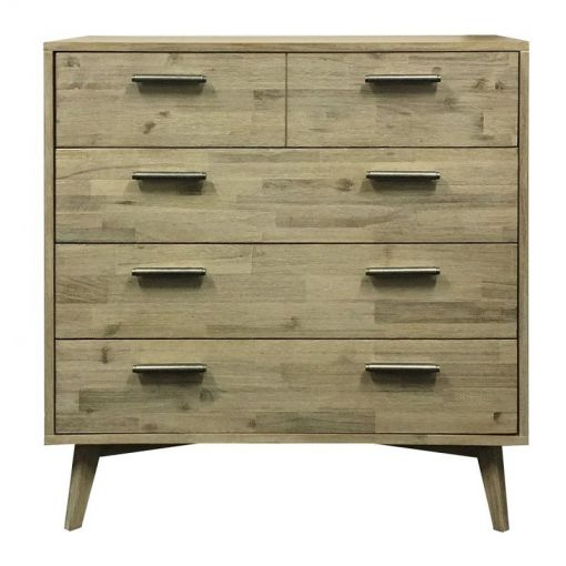 Portland Acacia Timber Bedside Table