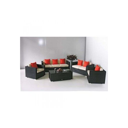 CALIFORNIA 5pcs Outdoor Sofa Setting + Coffee Table