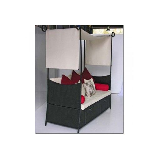 CARRINGTON Rectangle Daybed with Canopy