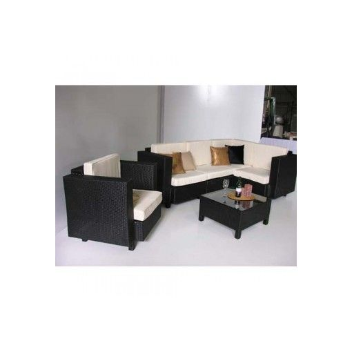 MILLAN 6pcs Outdoor Corner SOFA Setting