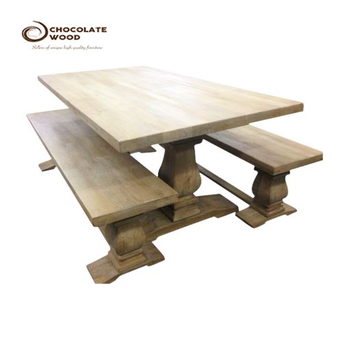 SALE Dining Table 2 Bench Package