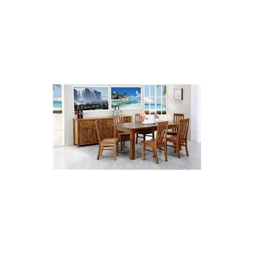 Altamura Solid Tasmanian Oak Timber 180cm Dining Table (Table Only)