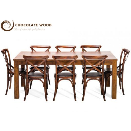 Cheap Online Dining Table & Noosa Oak Chair Package