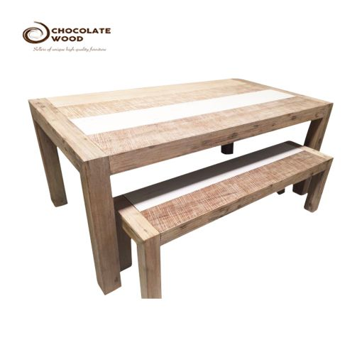FOR SALE  Timber Rustic Dining Table Bench Package