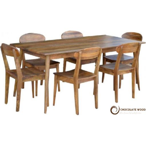 Cheap Retro Dining 7 Piece Package