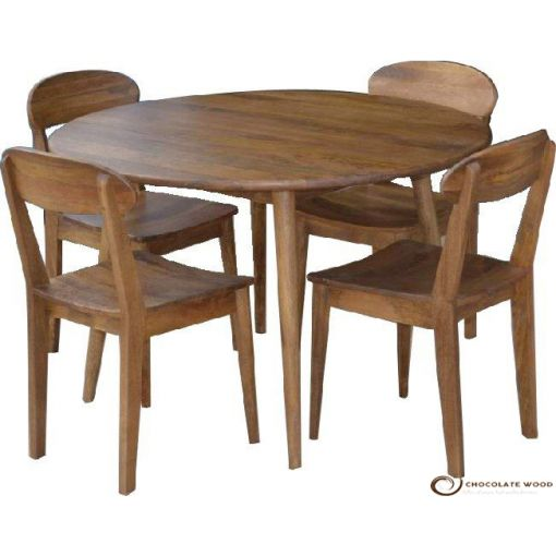 Online Cheap Round Dining Table & Chairs Package