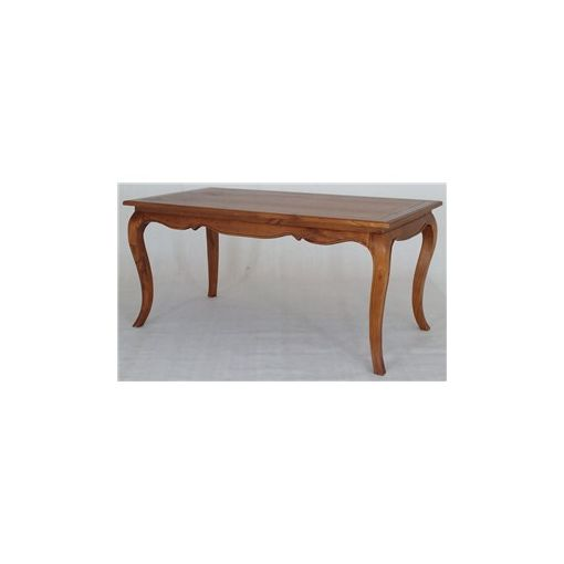 Mervent Solid White Cedar Timber 160cm Dining Table - Light Pecan
