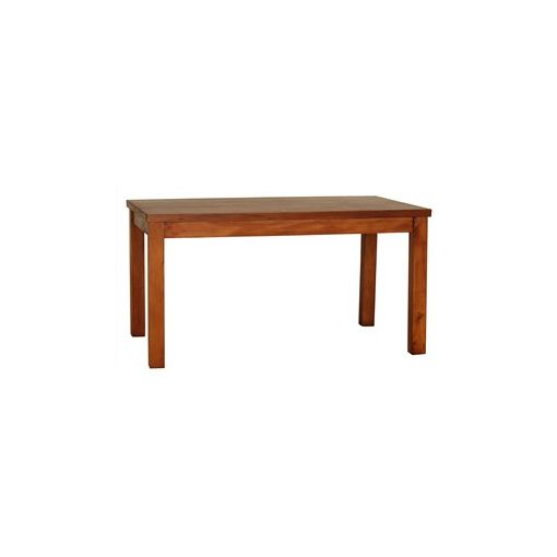 RPN Solid Mahogany Timber 150cm Dining Table - Light Pecan