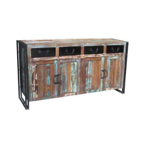 ELEMENT 4 DOORS, 4 DRAWERS SIDEBOARD 180X40X90CM