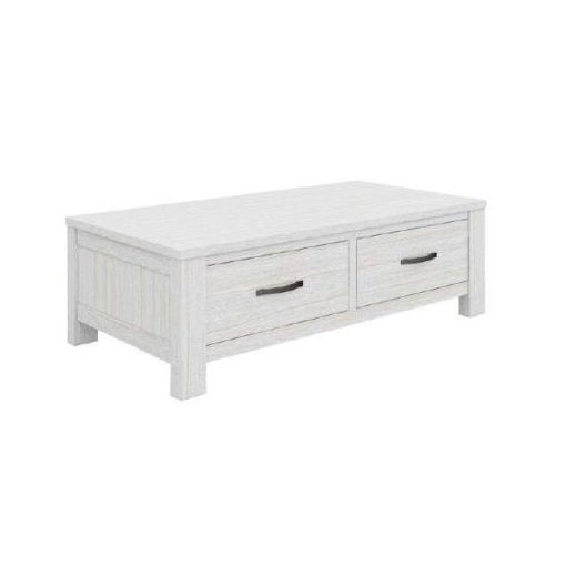 FLORIDA COFFEE TABLE WITH 2 DRAWER 127X66.5X40CM