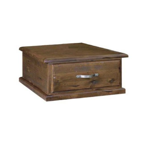 JAMAICA LAMP TABLE 1 DRW- 73X73X40CM