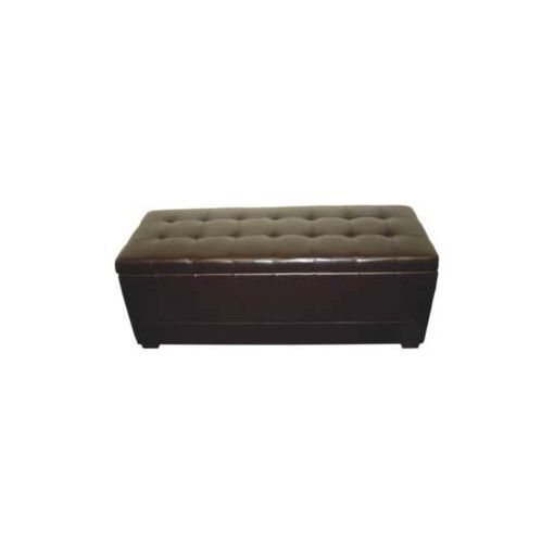 AXEL STORAGE OTTOMAN LARGE 128X48X48 CM BLACK