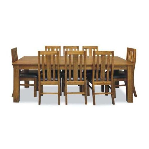 TOSCANA DINING TABLE 190X100X76CM NATURAL