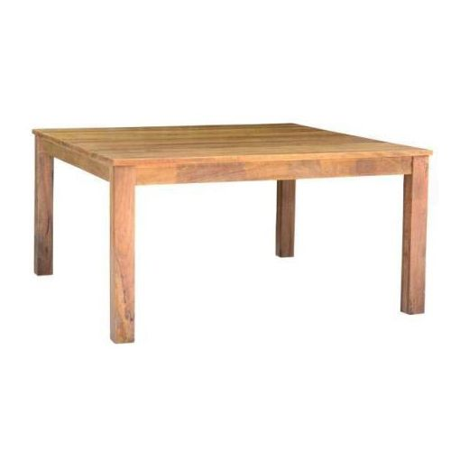 BRONTE DINING TABLE 150X150X78CM-AMERICAN OAK
