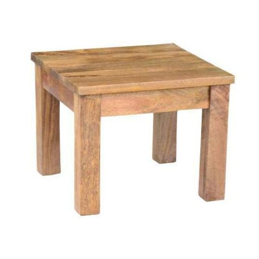 BRONTE LAMP TABLE 50X50X55CM-AMERICAN OAK