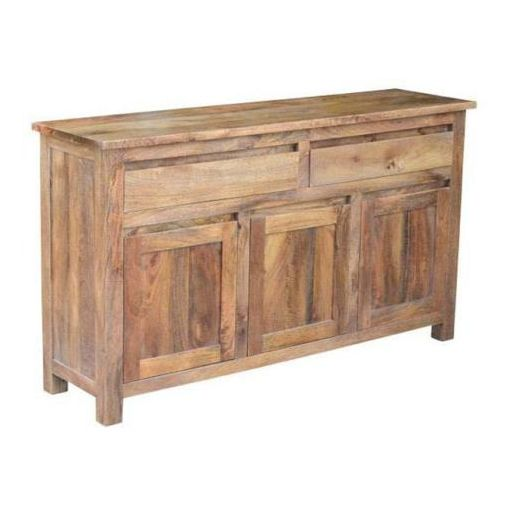 BRONTE BUFFET 2 DRAWERS 3 DOORS -AMERICAN OAK
