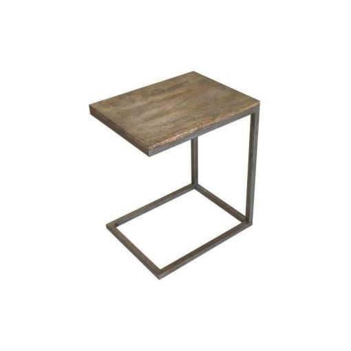 BYRON C SIDE TABLE - 40X50X60CM - DISTRESS NATURAL