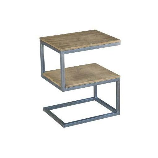 BYRON 'S' SIDE TABLE WITH SHELF50 X 40 X 61.5 DIST