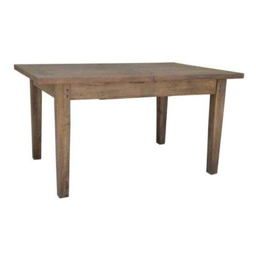 PARKES DINING TABLE WITH SINGLE EXTN. 150-210X100