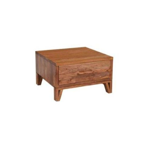 OSKAR SIDE TABLE 1 DRAWER 65X65X40CM-NATURAL