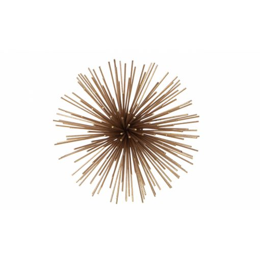 SPUTNIK WALL ART - SMALL GOLD