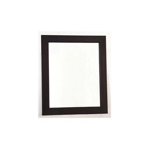 Solid Mahogany Frame Mirror without Stud 80 x 90 in Chocolate