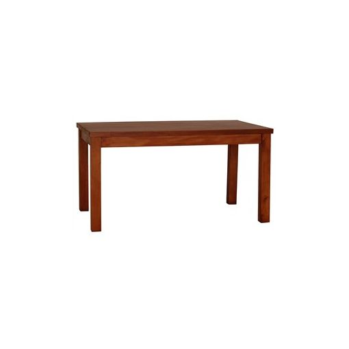RPN Solid Mahogany Timber 200cm Dining Table - Light Pecan