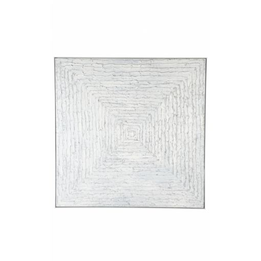 WHITE VORTEX WALL ART