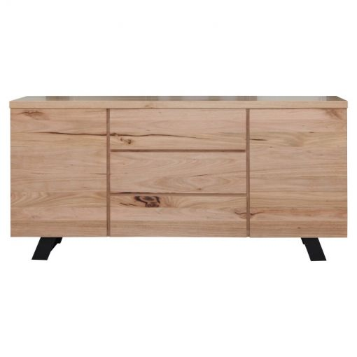 Atlantic Messmate Timber 2 Door 3 Drawer Buffet Table, 180cm