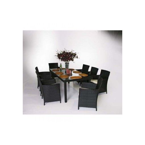 SANTANA 9pcs Dining Setting