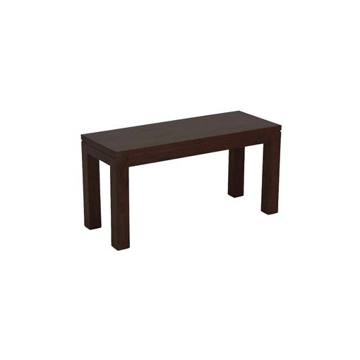 Amsterdam Solid Mahogany Timber 90cm Dining Bench - Chocolate