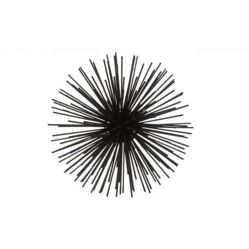 SPUTNIK WALL ART - SMALL BLACK