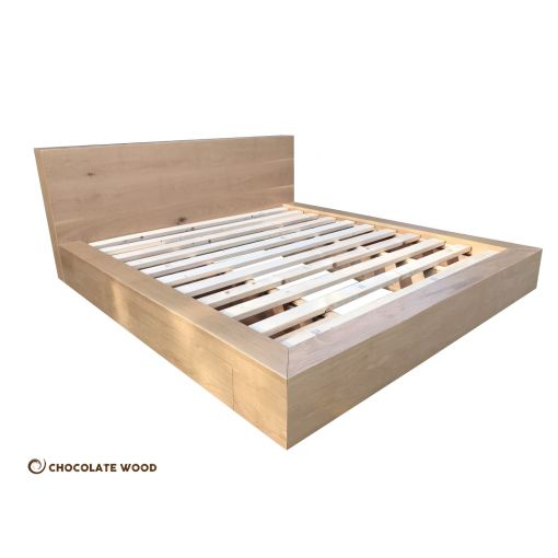 CUSTOM MADE   Australian Made Solid American Oak King Bed