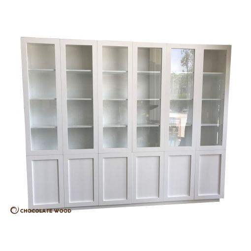 MADE TO ORDER  Australian Made White Painted Bookcase