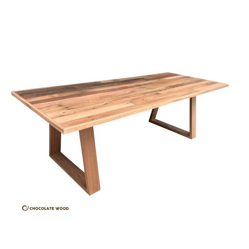 MADE TO ORDER  Essence Australian Made Recycled Hardwood DiningTable