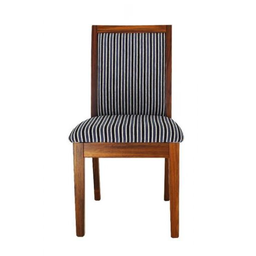CUSTOM  MADE  Australian Made Tasmanian Oak Timber Dining Chair - Choices Of Fabrics