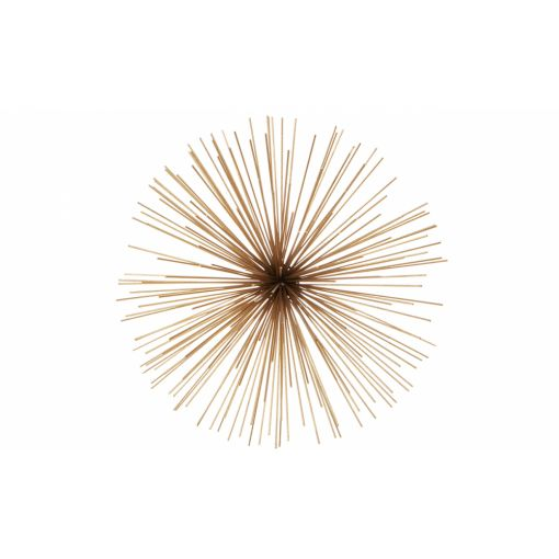 SPUTNIK WALL ART - MEDIUM GOLD