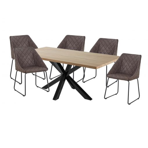 Online SALE  MESSI DINING SET - TABLE