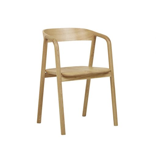Sketch Inlay Arm Chair