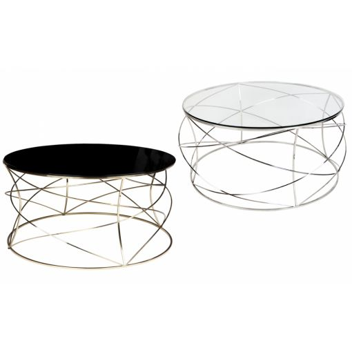 SOPHIE COFFEE TABLE - CHROME