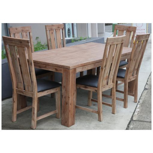 Adriana Solid Acacia Dining Table 1.9 x 1.0m