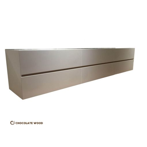MADE TO ORDER  Patras Australian Made Wall Hung 6 Drawers Tv Unit
