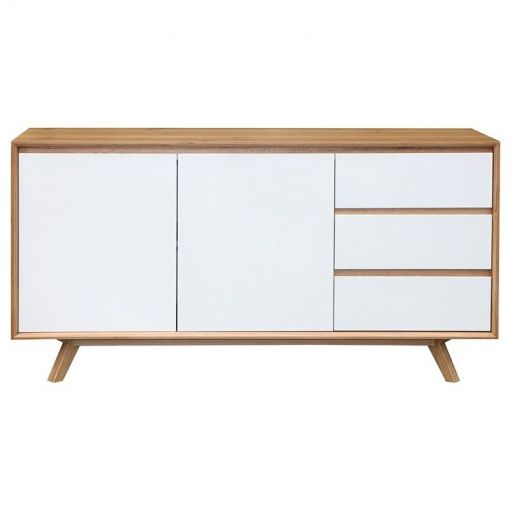 Sebel Wooden 2 Door 3 Drawer Buffet Table, 155cm