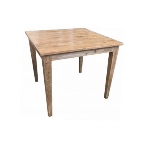 Melonie Oak Square Table