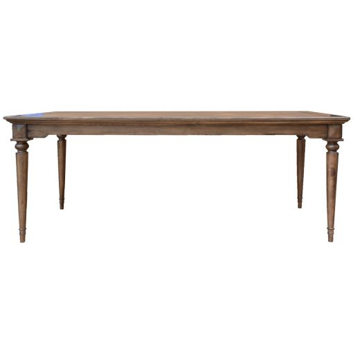 Aldro Pine Timber Dining Table, 200cm