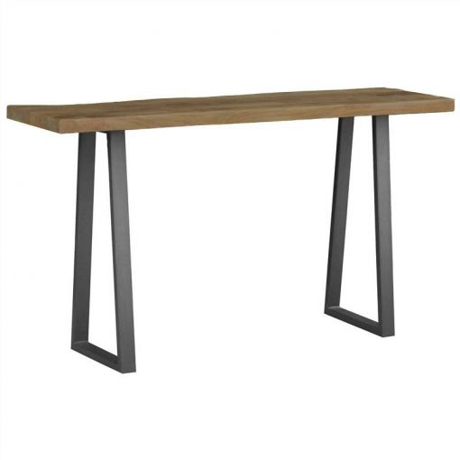 Udoll Mango Wood & Metal 140cm Console Table