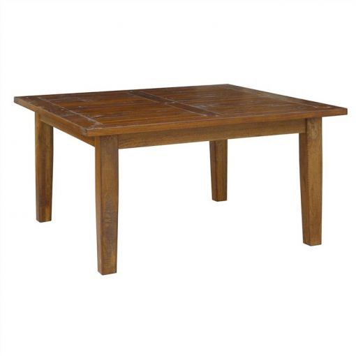 Harwinto Solid Mango Wood Timber Dining Table, 150cm