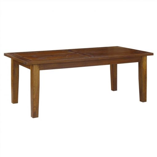 Harwinto Solid Mango Wood Timber Dining Table, 180cm