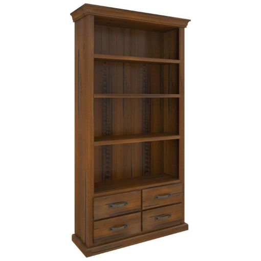 Molford Solid Pine Timber Bookcase