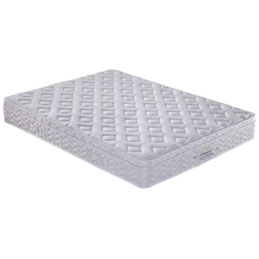 Orthazon Magic Coil Continuous & Pocket Spring Mattress with Pillow Top, King Single